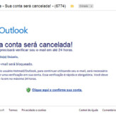 Outlook.com – E-mail falso